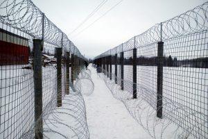 Зона забор