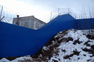 Забор под уклон Егоза