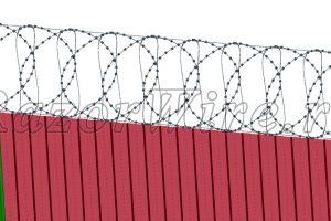 Забор 3D 3д