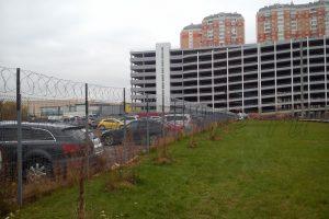 Егоза парковка